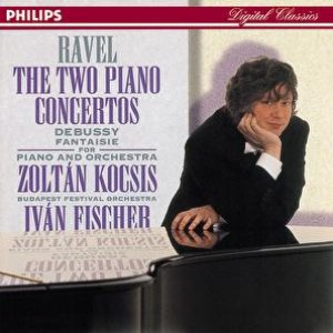 Image for 'Ravel: Piano Concertos//Debussy: Fantaisie for Piano & Orchestra'