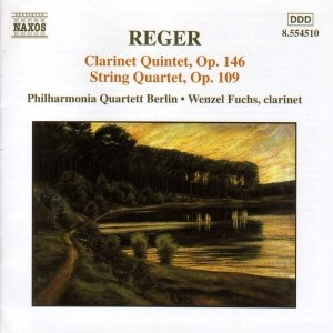 Image for 'REGER: Clarinet Quintet, Op. 146 / String Quartet, Op. 109'