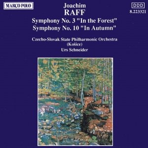 Image for 'RAFF: Symphonies Nos. 3 and 10'