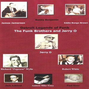 Image for 'Detroit Legends of Funk featuring The Funk Brothers and Jerry O'