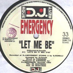 """""""Let Me Be""""的封面"""