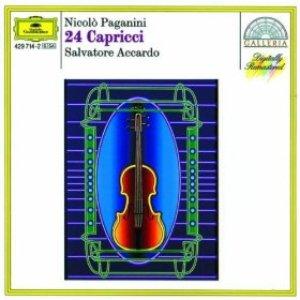 Image for 'Paganini: 24 Capricci'