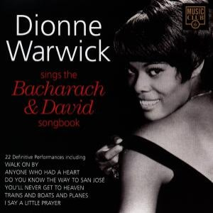 Imagen de 'Dionne Warwick Sings the Bacharach & David Songbook'
