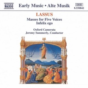Image for 'LASSUS: Masses for Five Voices / Infelix ego'
