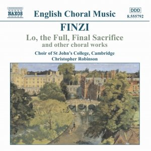 Image for 'FINZI: Lo, the Full, Final Sacrifice / Magnificat / Unaccompanied Partsongs, Op. 17'