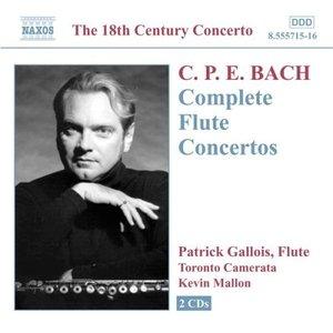 Imagem de 'BACH, C.P.E.: Flute Concertos (Complete)'