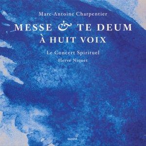 Image for 'Charpentier, M.-A.: Messe A 8 Voix Et 8 Violons Et Flutes / Te Deum A 8 Voix Avec Flutes Et Violons'