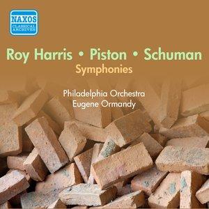 Image for 'Harris: Symphony No. 7 / Schuman, W.: Symphony No. 6 / Piston: Symphony No. 4 (Ormandy) (1953-1955)'