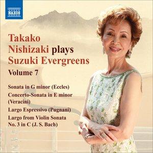 Image for 'Takako Nishizaki Plays Suzuki Evergreens, Vol. 7'