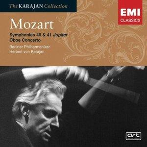 Image pour 'Mozart: Symphonies 40 & 41 'Jupiter' - Oboe Concerto'