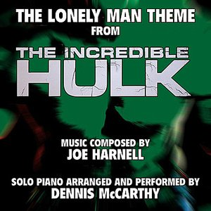 """Immagine per '""""The Lonely Man Theme"""" from the Television Series """"The Incredible Hulk"""" for Solo Piano (Joe Harnell) Single'"""