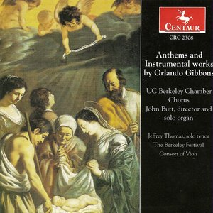 Image for 'Gibbons, O.: Anthems / Instrumental Music'