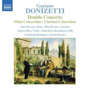 Imagen de 'DONIZETTI: Double Concerto / Flute Concertino / Clarinet Concertino'