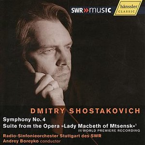 Image for 'Shostakovich: Symphony No.4 - Suite'