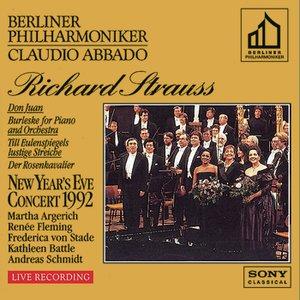 Image for 'New Year's Eve Concert - Berlin 1992 (Don Juan/Burleske/Till Eulenspiegel/Der Rosenkavalier)'