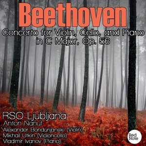 Image for 'Beethoven: Concerto for Violin, Cello, and Piano in C Major, Op. 56'
