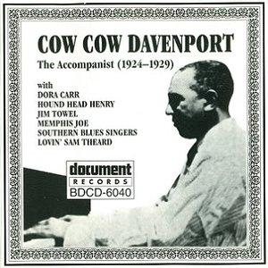Imagem de 'Cow Cow Davenport - The Accompanist (1924-1929)'