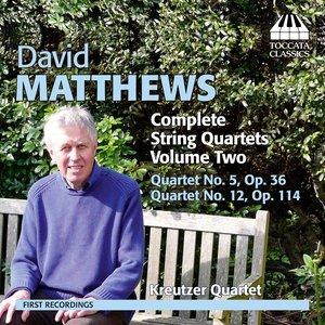 Image for 'Matthews: Complete String Quartets, Vol. 2'
