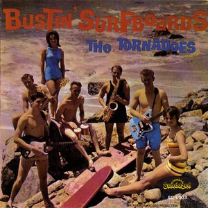 """Bustin' Surfboards""的封面"