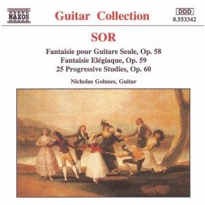 Bild för 'SOR: 25 Progressive Studies, Op. 60 / Fantaisie Elegiaque'
