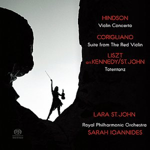 Image for 'Hindson: Violin Concerto - Corigliano: Suite from The Red Violin - Liszt: Totentanz'