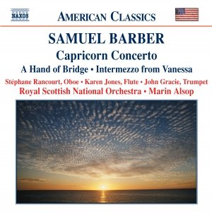 Image for 'BARBER: Capricorn Concerto / A Hand of Bridge / Canzonetta / Intermezzo'