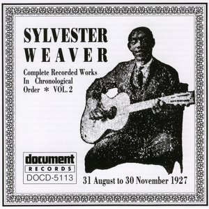 Image for 'Sylvester Weaver Vol. 2 (1927)'