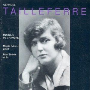 Image for 'Tailleferre, G.: Violin Sonatas Nos. 1 and 2 / Pastorales / Berceuse / Romance / Impromptu / Rondo / Choral / Gaillarde'