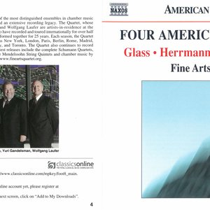 Image for 'Four American Quartets'