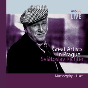 Image for 'Great Artists - Live in Prague - Sviatoslav Richter - piano - Mussorgsky - Liszt'