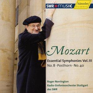 "Image for 'Mozart, W.A.: Symphonies (Essential), Vol. 3 (Norrington) - Nos. 8, 40 / Serenade No. 9, ""Posthorn"" (Excerpts)'"