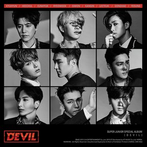 Image for 'DEVIL - SUPER JUNIOR SPECIAL ALBUM'