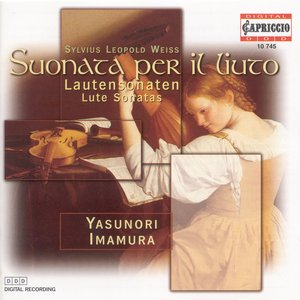 """Image for 'Weiss, S.L.: Lute Sonatas Nos. 39, """"Partita Grande"""" and 45 / Prelude and Fugue in D Minor'"""