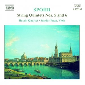 Image for 'SPOHR: String Quintets Nos. 5 and 6'