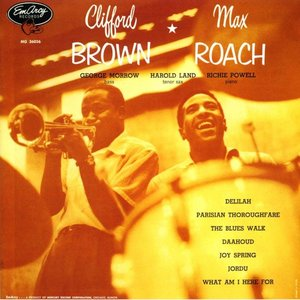 Image for 'Clifford Brown and Max Roach'