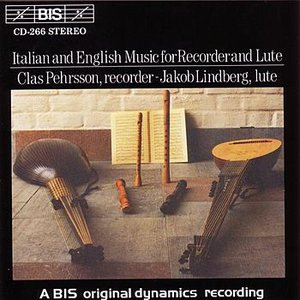 Image for 'ITALIAN AND ENGLISH MUSIC FOR RECORDER AND LUTE'