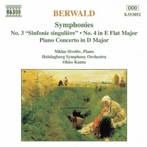 Image for 'BERWALD: Symphonies Nos. 3 and 4 / Piano Concerto'