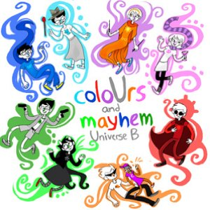 Image for 'coloUrs and mayhem: Universe B'