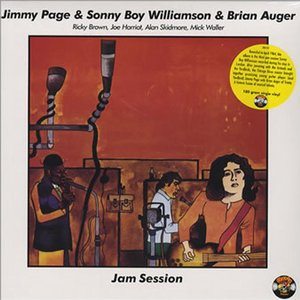 Image for 'Jimmy Page With Sonny Boy Williamson & Brian Auger'