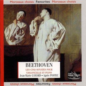 Image for 'Beethoven : Les cinq Sonates pour violoncelle et piano'