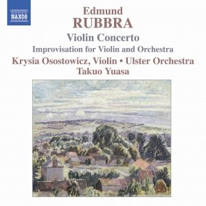 Image for 'RUBBRA: Violin Concerto, Op. 103 / Improvisations, Op. 89'