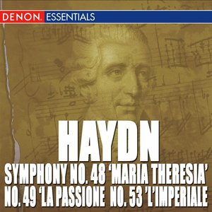 "Image for 'Symphony No. 48 in C Major ""Maria Theresia"": II. Adagio'"