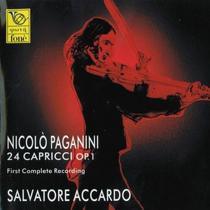 Image for 'Nicolò Paganini : 24 Capricci for Violin Solo Op. 1'