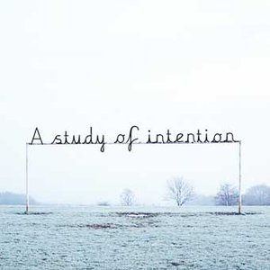Image for 'A study of intention'