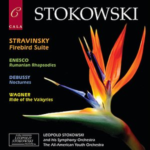 Imagem de 'Stravinsky: Firebird Suite - Enescu: Rumanian Rhapsodies - Debussy: Nocturnes - Wagner: Ride of the Valkyries'