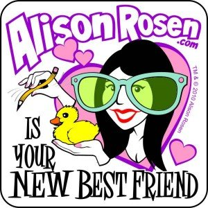 Immagine per 'Alison Rosen Is Your New Best Friend'