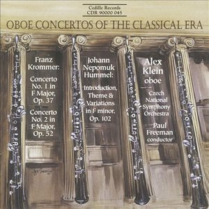 Immagine per 'Krommer: Oboe Concertos Nos. 1 and 2 / Hummel: Introduction, Theme and Variations'