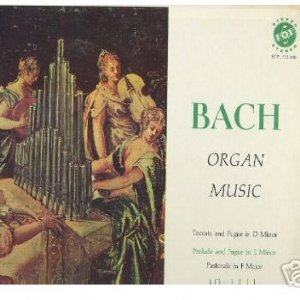 Image for 'JS Bach - Organ Music'