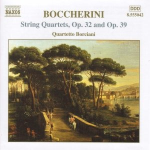 Immagine per 'BOCCHERINI: String Quartets, Opp. 32 and 39'
