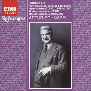Image for 'Schnabel plays Schubert'